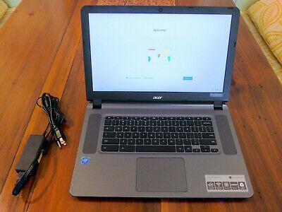 "Acer Chromebook 15.6"" Celeron N3060 4GB RAM 16GB eMMC | CB3-532-C8DF | Gray"