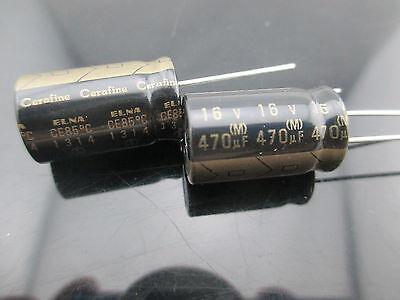 10pcs 470uf 16v 470mfd Elna Cerafine Roa For Audio Hifi Electrolytic Capacitor