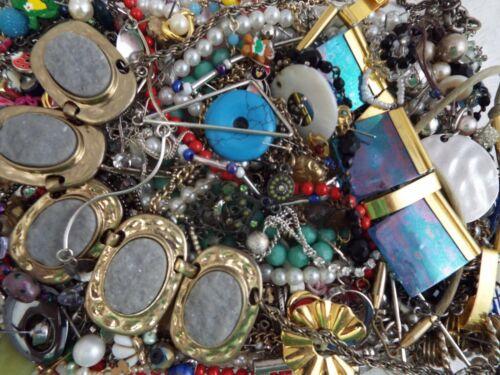 ~ 3 lb ~ Junk Jewelry ~ Lot L191