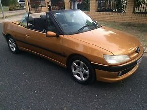 PEUGEOT 306 AUTOMATIC CONVERTIBLE Valley View Salisbury Area Preview