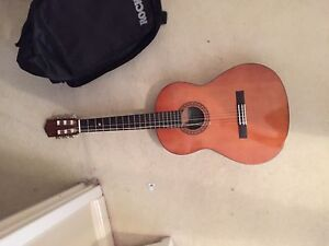 Acoustic Guitar and Case Mount Pleasant Melville Area Preview