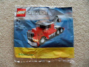 LEGO-Creator-Brickmaster-Exclusive-Rare-Tow-Truck-20008-New-Sealed