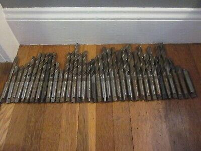 37 Morse Taper Mt2 Hss Drill Bit Tool Set Lot Machinist Lathe Mill Cnc Many Nos