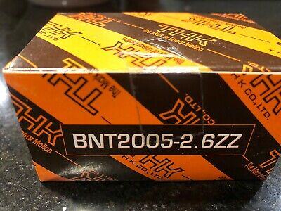 Thk Bnt2005-2.6zz Ball Screw Nut 402759 Bnt2005a Drive Diverter New In Box