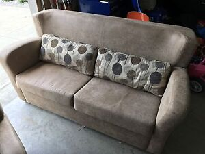 RV Furniture Love Seat Hide a Bed and 2 Recliners
