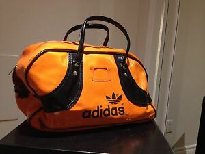 Retro Adidas gym bag