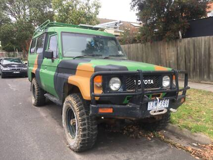 Toyota Landcruiser FJ75RV McKinnon Glen Eira Area Preview