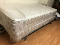 Single Mattress with Box and Frame