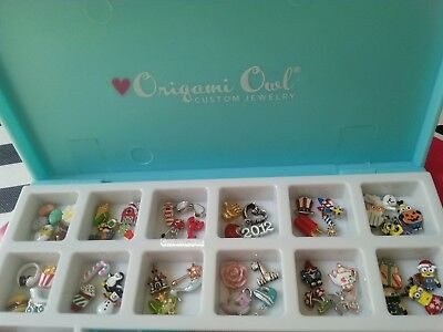 Origami Owl Rare & HTF Charms: Charms of the month, Barn, Castle, Daisy + more ()