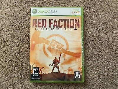 Red Faction: Guerrilla (Microsoft Xbox 360, 2009) BRAND NEW, SEALED - Free Ship