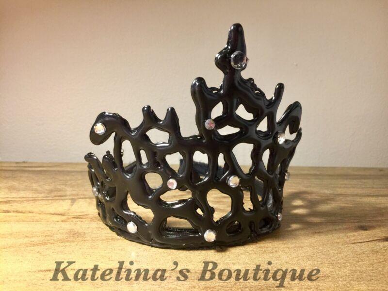 Swan Lake Black Crown Ballerina Crown Melted Crown
