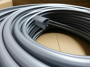 5 metre silver locker t trim furniture knock on edging vw for Furniture t trim edging