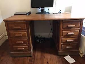 Antique Desk Crows Nest North Sydney Area Preview