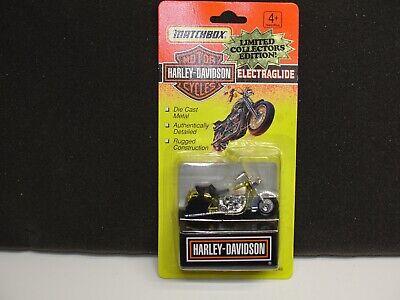 Matchbox Harley Davidson Police Electraglide Motorcycle 1:64 Scale 76246 NIB