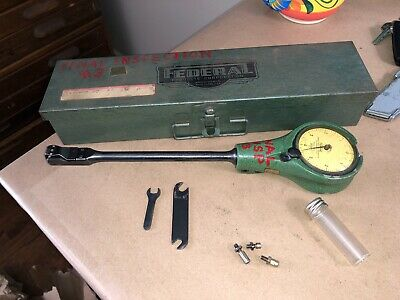Federal Model 1201p-1-r2 Series Hole Gauge Kit 34 - 1 14