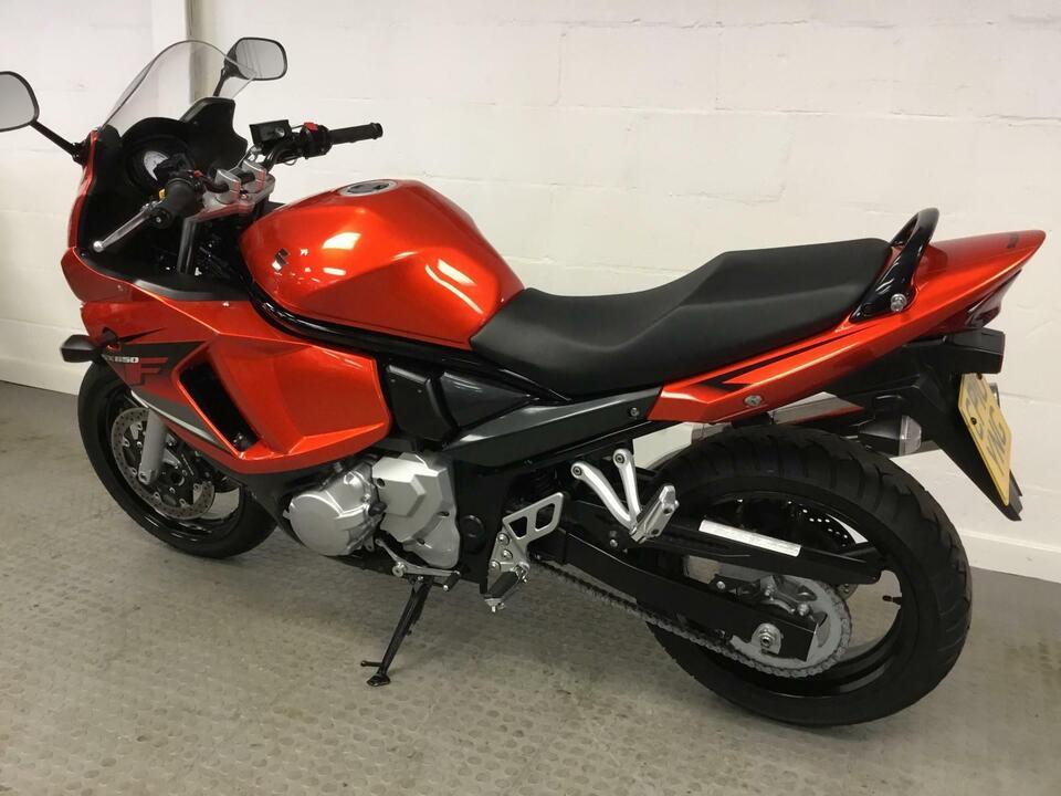 Suzuki GSX650F GSX 650 F 2010 / 10 Orange / Black - Only 6073 Miles