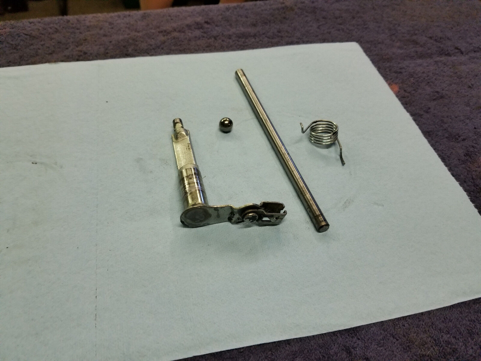 banshee stock clutch linkage parts with activator arm