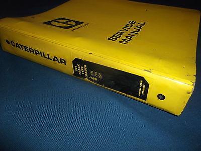 Cat Caterpillar 941 Track Loader Service Shop Repair Book Manual 71h 70h 80h