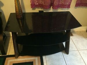 Glass computer table on sale