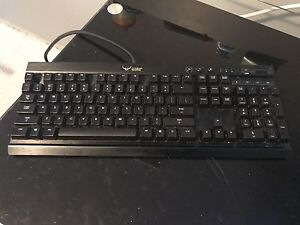 Corsair K70 Mechanical Keyboard, Razer Deathadder, 9HD Mousepad