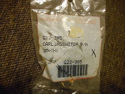 Vintage Carling Toggle Switch 2gm54-73-xj New Old Stock G22-385 Onoffon