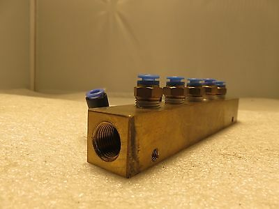 Hydraulic Valve Block Manifold Length7 Height1 Width1
