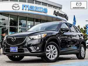 2015 Mazda CX-5 GS-Leather, BSM, Pwr Seat, Sunroof, Back Up Came