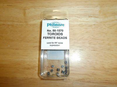 Pkg12 Philmore 86-1570 Toroids Ferrite Beadsnip