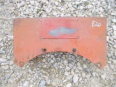 Mccormick Deering F20 Farmall Tractor Tool Box W Serial Tag Plate