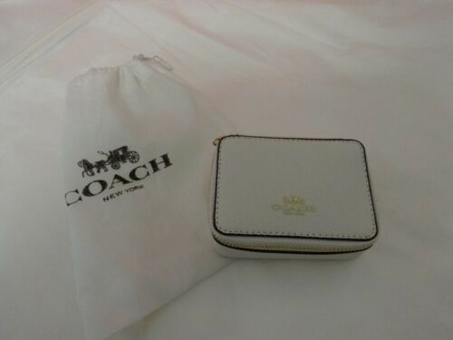 Coach leather  Triple Pill Box.  New with tags & gift box in