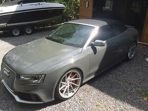 Audi S5 convertible 2013 (rs5 body)