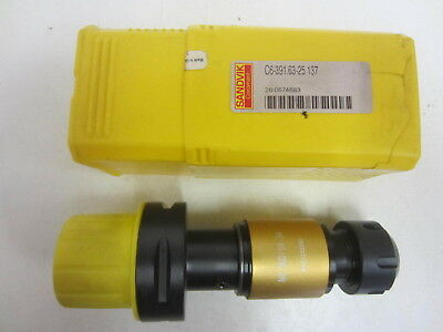 Nib Sandvik C6-391.63-25 137 Coromant Capto To Synchroflex Er Tapping Chuck