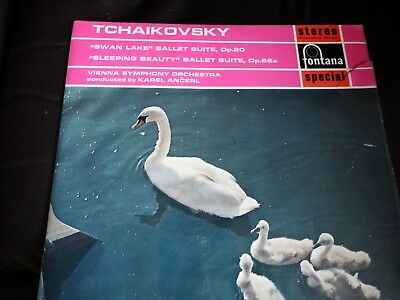TCHAIKOVSKY BALLET SUITES - SWAN LAKE - VIENNA SYMPHONY ORCHESTRA, LP