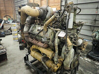 Caterpillar 3408 Di Turbo Diesel Engine Runs Exc 988f Wheel Loader 988b 3408di