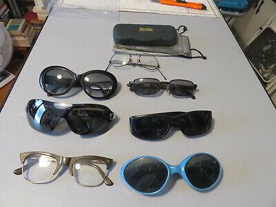 Pack Sonnenbrille Optisch Vintage Verschiedene Modelle und Wurde Von