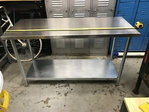 Stainless Steel Tables (Various different sizes)