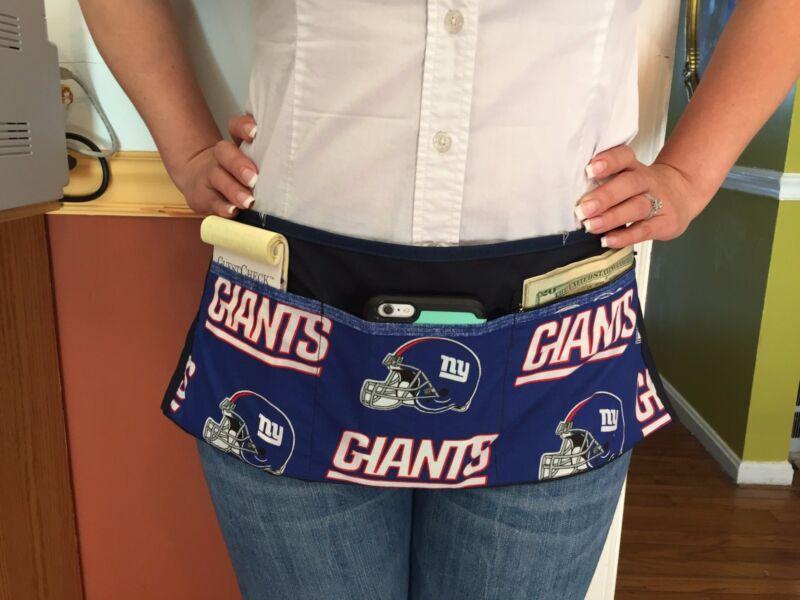 NEW NFL NY GIANTS COCKTAIL-WAITRESS WAIST MINI APRON