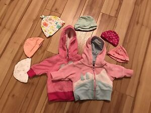 Lot of newborn and 0-3 month clothing