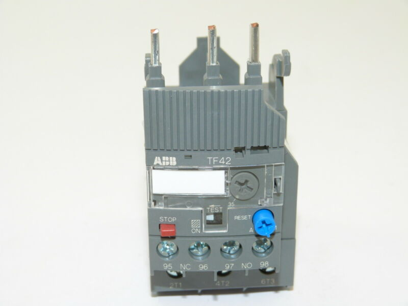 ABB TF42-38 Thermal Overload Relay 35-38a NEW 1yr Warranty