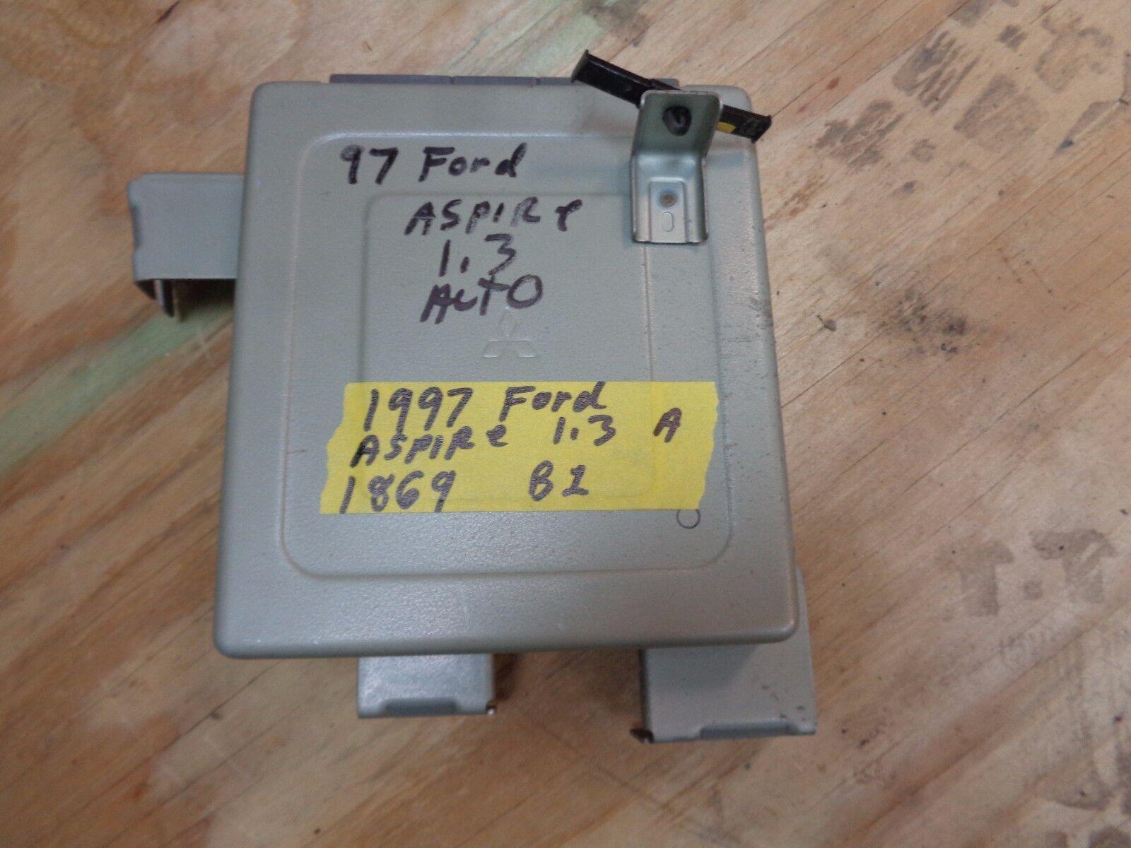 1997 ford aspire a 1.3 ecu pcm computer e2t87071t automatic b3s3 b383