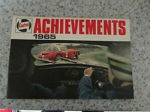 1965 CASTROL ACHIEVEMENTS REVIEW BOOKLET