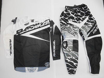 CANVAS MOTOCROSS OFF ROAD DIRTBIKE RIDING GEAR PANTS 32 SMALL SXF SX-F 250 450 Off Road Hose Riding Gear