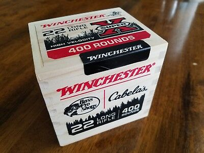 Ammo Boxes - Winchester 22 Lr