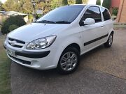 2007 Hyundai Getz Merewether Heights Newcastle Area Preview