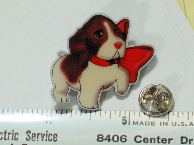 Brittany Spaniel Puppy Dog Pin  Cute  Limited Edition
