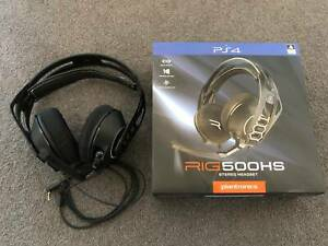 Ps4 Gaming Headphones (Plantronics Rig 500HS) Excellent Condition Canberra City North Canberra Preview