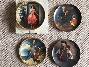 Knowles Limited Edition Collectors Plates