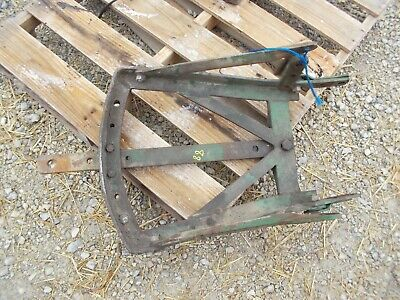 Oliver 88 Diesel Tractor Nice Original Complete Drawbar Hitch Assembly