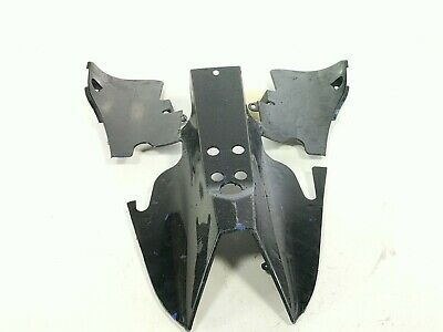 09-14 Yamaha YZF R1 Belly Pan Undertail Plate Scrape Protector 408-21611