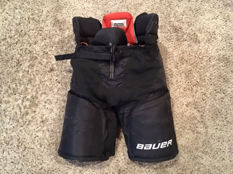 Pro Stock Colorado Avalanche Bauer Vapor X:60 Hockey Pants - Medium